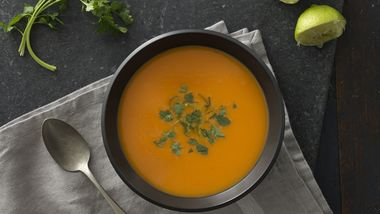 Sweet Potato, Coconut and Gingerroot Soup