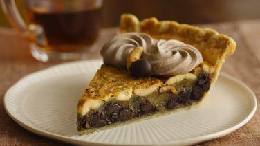Chocolate-Cashew Pie