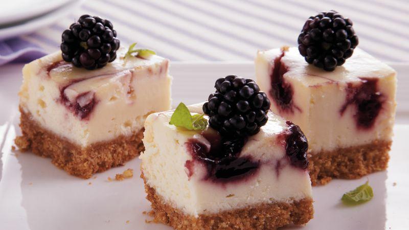Blackberry Cheesecake Bites recipe from Betty Crocker