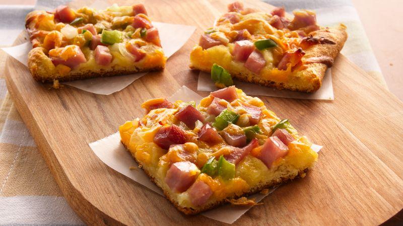 Ham and Cheese Crescent Snacks