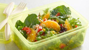 Quinoa Mixed Green Salad