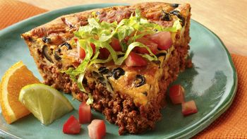 Impossibly Easy Chili Pie