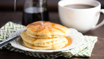 Double Rainbow Pancakes recipe - from Tablespoon!