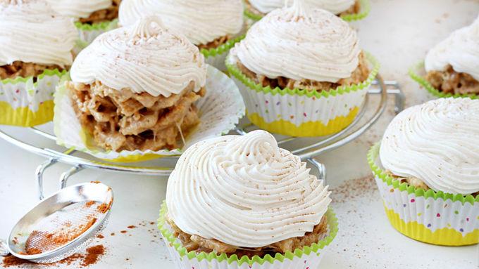 No-Bake Snickerdoodle Cupcakes
