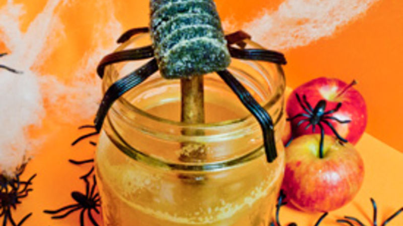 Creepy-Crawly Spider Cider