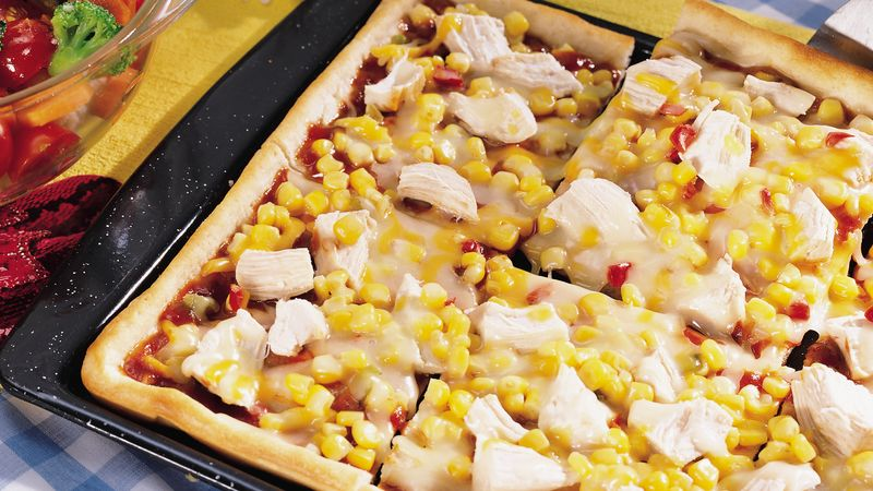 Dorothy´s Kansas-Style Barbecued Chicken Pizza