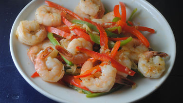 Shrimp in Garlic Sauce