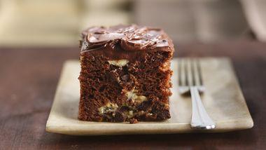 Fudge Lover's Cream Cheese Cake