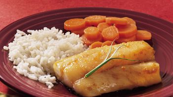 Honey-Soy Baked Cod