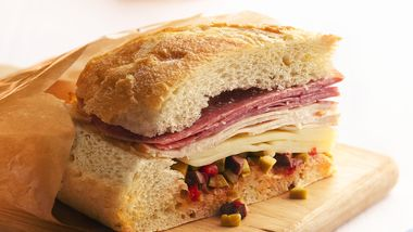 Chicken Muffuletta