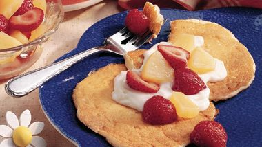 Fruity Yogurt Pancakes