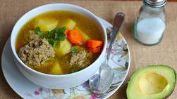 Potato and Meatball Stew
