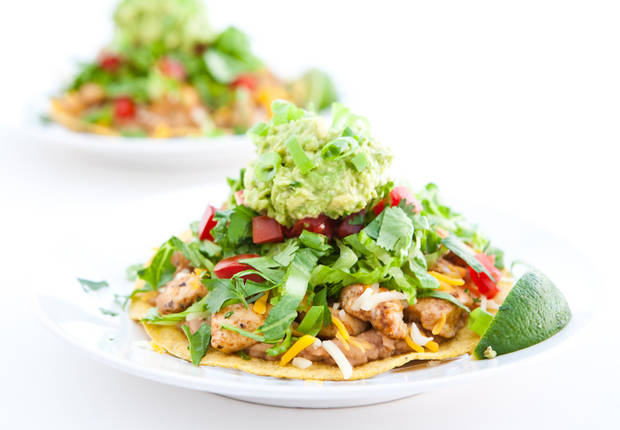 ... McGowan of eclectic Recipes shares Chipotle Chicken Tostadas recipe