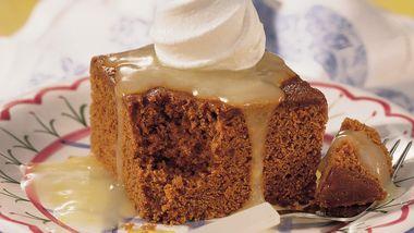 Lemon-Topped Gingerbread