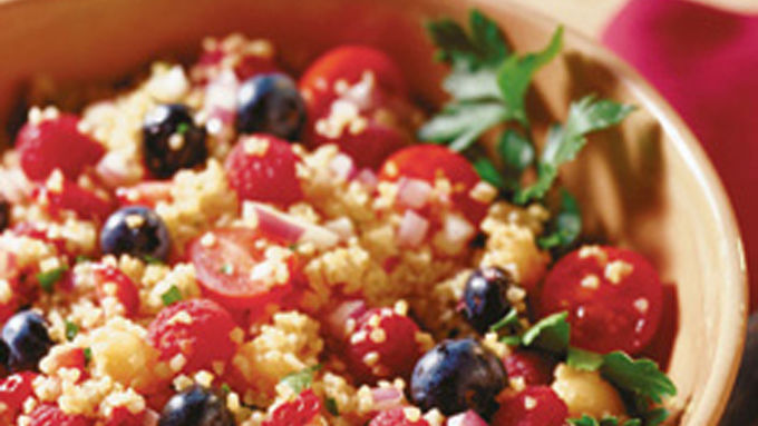 Tabbouleh with Fruit