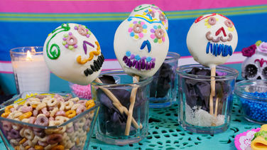 White Chocolate Pear Calaveritas