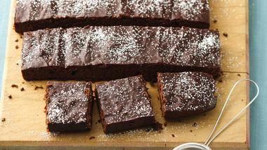 Skinny Chocolate Lovers' Brownies