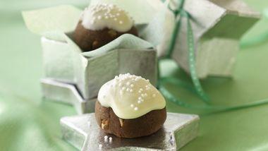 Baked Hazelnut Truffles