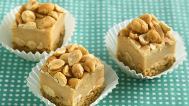 Salty Nutty Peanut Bars