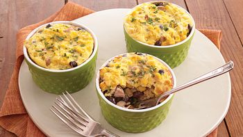 Corn-Topped Pork Pot Pies