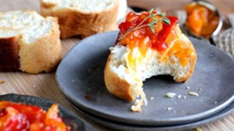 Sweet Tomato Crostini