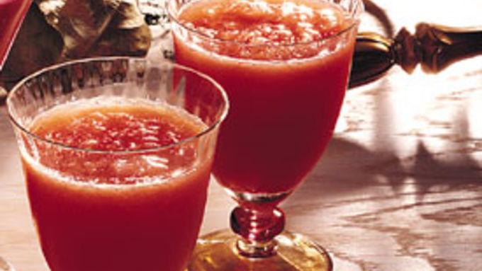 Cranberry-Orange Slush Cocktails