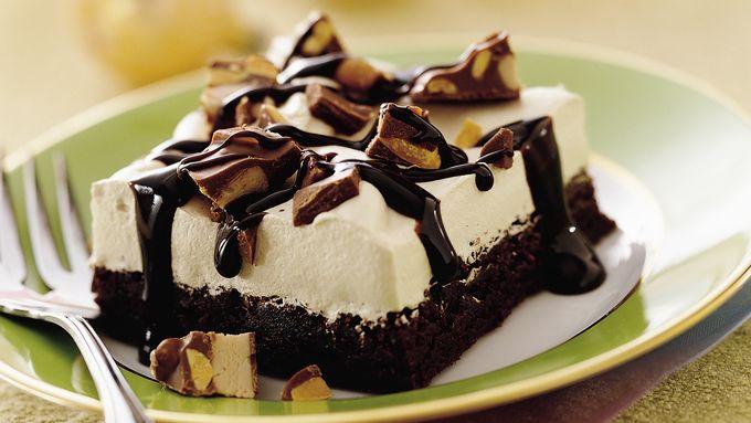 Maple Cream Brownie Dessert