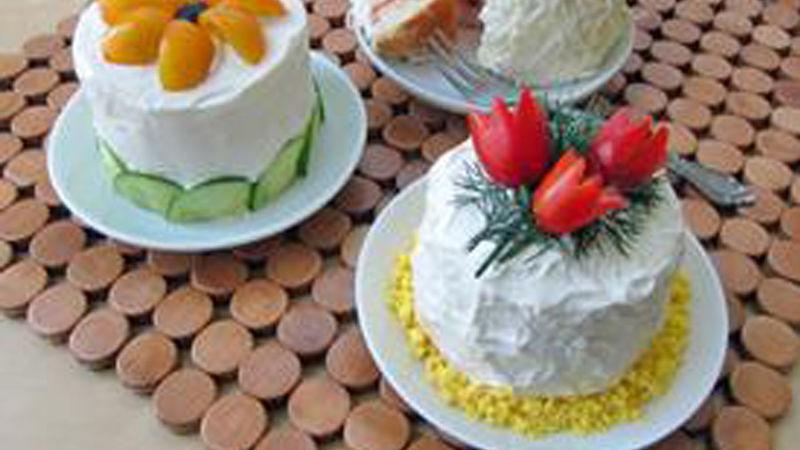 Mini Sandwich Cakes (Smorgastarta)