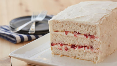 Strawberry Yogurt Torte