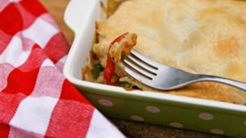 Easy Individual Chicken Pot Pies
