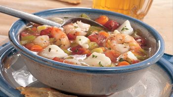 Slow-Cooked Fisherman's Wharf Seafood Stew