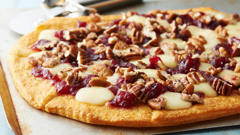 Brie and Cranberry Pizza