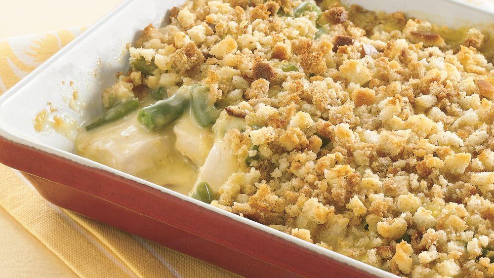 Green Bean and Chicken Casserole
