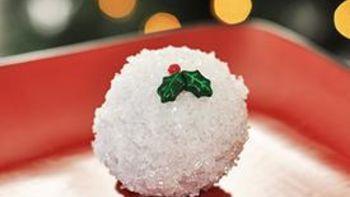 Donut Hole Snowballs