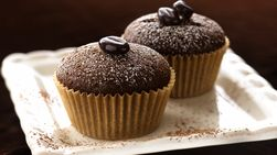 Cupcakes de Chocolate y Café Expreso