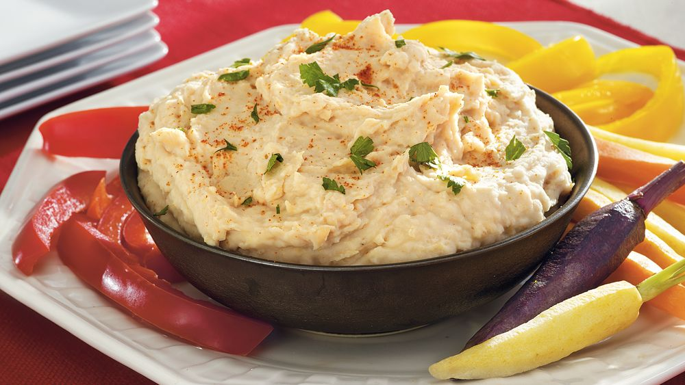 Roasted Lemon-White Bean Dip