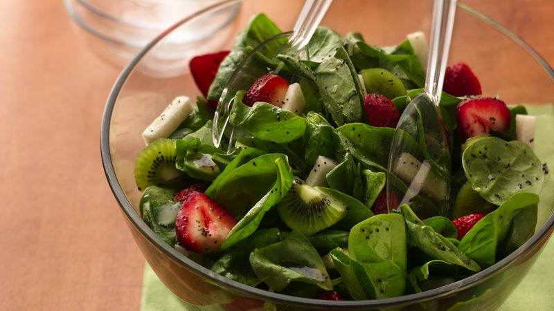 Spinach-Strawberry Salad