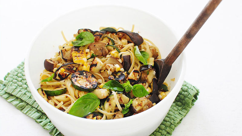 Summer Pasta with Vegetables