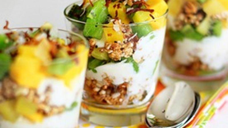 Tropical Breakfast Parfaits