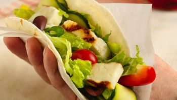 Greek Grilled Cheese Tacos