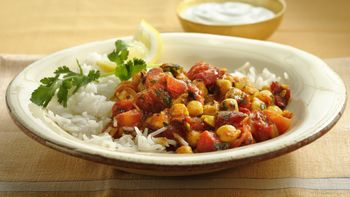 Gluten-Free Chick Pea and Tomato Curry