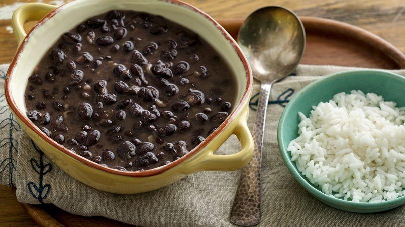 receta de frijoles negros que rica vida