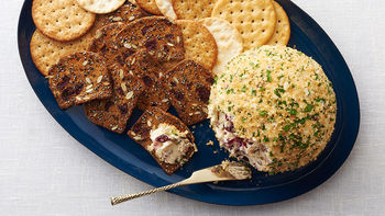 Cranberry-Blue Cheese Ball