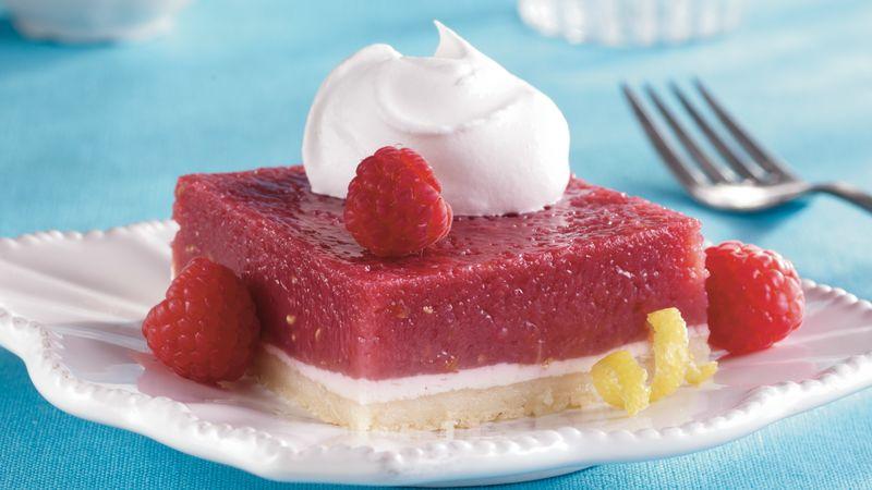 Raspberry-Lemon Squares