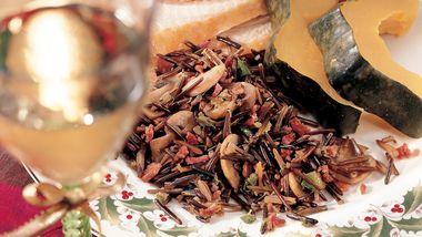 Bacony Wild Rice