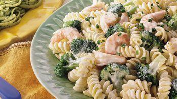 Creamy Shrimp and Broccoli Rotini