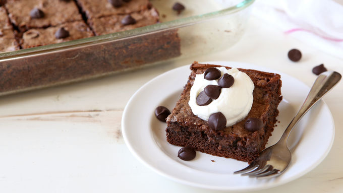 Triple Chocolate Gooey Butter Cake