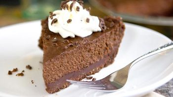 Triple Chocolate Pumpkin Pie