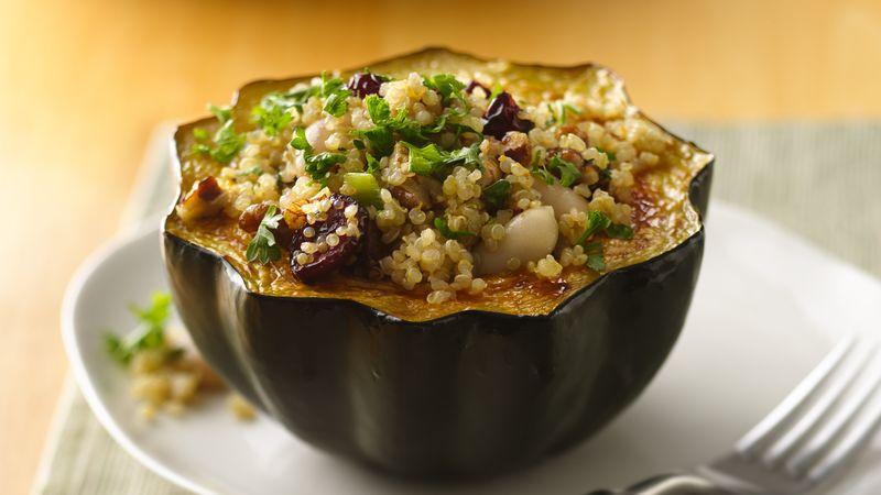 Quinoa-Stuffed Roasted Squash