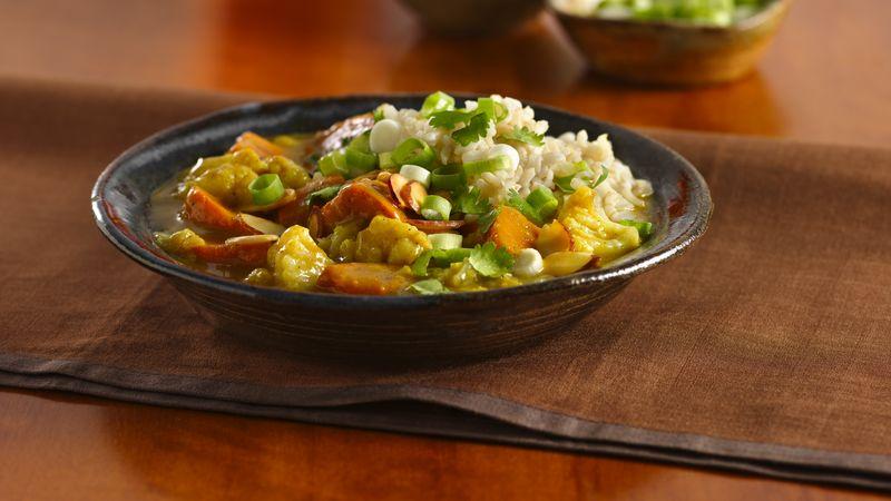 Sweet Potato-Cauliflower Curry